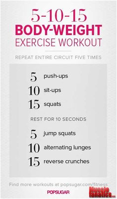 Minimum workout! !!!!