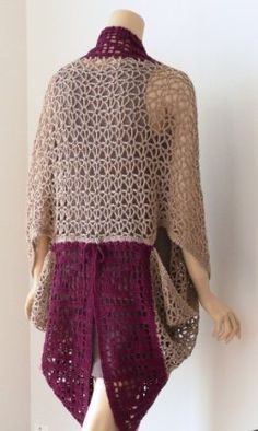 The Saoirse Stole, designed by Doris Chan, is not only an innovative mix of crochet stitch patterns; it is an excellent example of how one garment can be styled in a multitude of ways.  Saoirse Stole, Interweave Crochet Fall 2013 Close up of both stitch patterns Shaped like a large rectangle, the crochet stole…