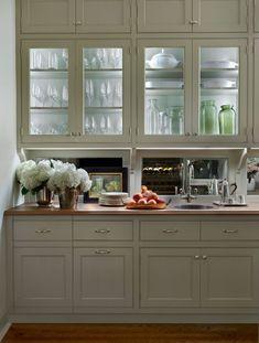 butler's pantry; Jessica Lagrange Interiors