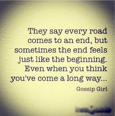 Gossip Girl quote.