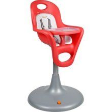 Boon Flair Pedestal Highchair Cherry/Coconut