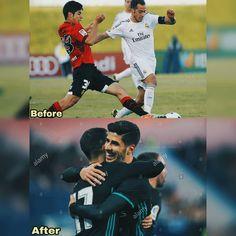 ✨ᴇʟ ꜰᴜᴛᴜʀᴏ✨ . Antes y después . @marcoasensio10 ❤ . @lucasvazquez91 ❤ . . . #marcoasensio #MA20 #kingasensio #asensio #lucasvazquez…