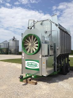 12' Sukup corn dryer getting delivered today to another #ontag farm! Built by Devolder Farms
