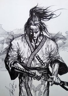 samurai by dikeruan on @DeviantArt