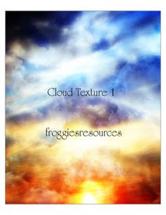 Free Cloud and Sky Textures   Photoshop Tutorials
