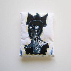 Basquiat graffiti regalo compleanno lui laurea d'arte lei regalo migliore amico anniversario decorazione casa arte pop 3buu scultura tessile