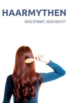 Haarbande // Haarmythen - An den Haaren herbeigezogen? - Green Shades of Red Hair Repair, Monat, Shades Of Red, Tricks, Beauty, German, Blog, Posts, Inspiration