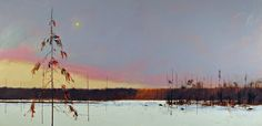 Landscape Paintings by David Lidbetter Painting Snow, Winter Painting, Oil Painting Abstract, Nature Paintings, Beautiful Paintings, Landscape Paintings, Landscapes, Canada Landscape, Snow Art