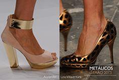 Sapatos na passarela #Verão 2013 | Brazilian Spring 2013 Shoes on the Catwalk