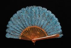 prior pin: Fan Rodeck Brothers Date: 1895 Culture: Austrian Medium: synthetic, feather Dimensions: 9 in. cm) Credit Line: Brooklyn Museum Costume Collection at The Metropolitan Museum of Art, Antique Fans, Vintage Fans, Vintage Antiques, Victorian Era, Victorian Fashion, Vintage Fashion, Hand Held Fan, Hand Fans, 1890s Fashion