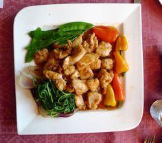 Ein tolles Rezept, typisch für die US-Chinesische Küche