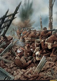 Cecil Rhodes, Rothschild and JP Morgan and the World War 1 Conspiracy, a World History entry based on a James Corbett documentary Military Art, Military History, Ww1 History, History Facts, Ww1 Art, Post Apocalyptic Art, Top Imagem, Military Drawings, War Image