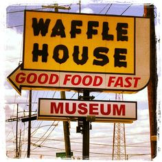 Waffle House Museum.  In Decatur...how did I miss this?  It is just down the road.  Can't wait to see the history of the place that I have had a number of yummy breakfasts at over the years!