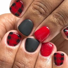 nail designs for summer nail designs for short nails 2019 kiss nail stickers nail art sticker stencils best nail polish strips 2019 Get Nails, Fancy Nails, Love Nails, How To Do Nails, Pretty Nails, Holiday Nails, Christmas Nails, Tartan Christmas, Nail Art Sticker