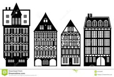 Traditional German Houses | Old German Houses Royalty Free Stock Photography - Image: 35150287