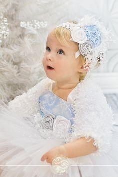 Winter Onederland Toddler Snow Princess Tutu by Baby2BNashville, $86.00