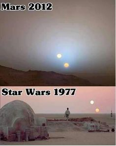 Okay, that confirms it!  George Lucas is definitely an alien and I need to find out where I can begin my Jedi Knight training!