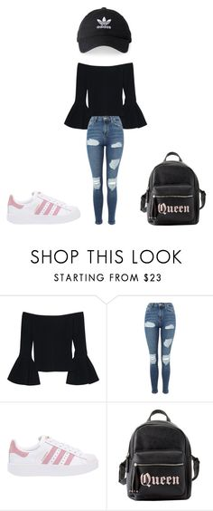 """""""mooi"""" by roxie-deen on Polyvore featuring mode, Alexis, Topshop, adidas Originals, Charlotte Russe en adidas"""