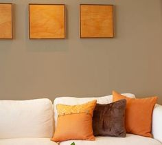 Wall Colors We Love for the Living Room: Putty-Colored Living Room Paint