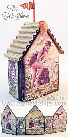 Alpha Stamps News » A Bell Jar Fairy AND A Fish House?! Plus a NEW FREE Gift!