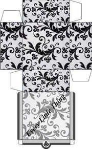 Beautiful box design. Love the pattern.