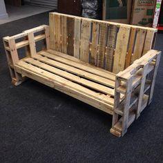 #DIY Sturdy Handmade Pallet #Bench & #Sofa | 101 Pallets