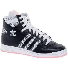 5126c49c9338 Adidas Decade OG High Top Sneakers ( 116) ❤ liked on Polyvore