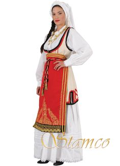 Folk Costume, Costumes, Folk Dance, Greek Clothing, Gold Embroidery, Ancient Greece, Hair Jewelry, Traditional, Greek Apparel