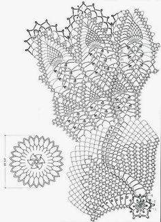 Crochet-doily-pattern+häkeln-Deckchen++ld9+(2).JPG 1.161×1.600 piksel