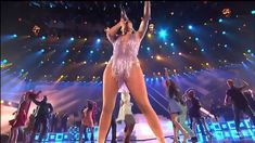 Jennifer López - tribute to Celia Cruz (Live at American Music Awards 2013)