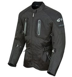 Joe Rocket Ballistic 8.0 Black Textile Jacket Rock Tex� 600 outer shell 100% WATERPROOF C.E. rated protectors in shouldPrice - $269.99-rsMgl68O