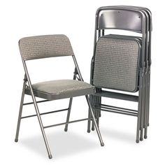 Bridgeport Deluxe Fabric Padded Seat  Back Folding Chair Set of 4 ** You can find more details by visiting the image link.Note:It is affiliate link to Amazon. #likes4likes