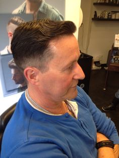 Old Skool with a parting Made by Dean Casas Riks Kapsalon