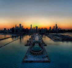 Chicago Pier From Above By Trey Ratcliff