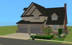 Mod The Sims - 16 Mariposa Loop: $112k, 3BR+3BA, sweet and simple traditional home (NO CC).  Open floor plan, covered rear porch, pool, attached double garage.  Lot Size: 2x3.  Lot Price: $112,806 (F).