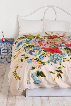 #FolkFloral duvet via @Urban Outfitters Charming in Charlotte