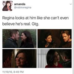 And she's gonna be looking at him like that again very soon. #OutlawQueen