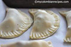 Masa Casera para Empanadas al Horno My Colombian Recipes, Colombian Food, Mexican Food Recipes, Pie Recipes, Cooking Recipes, Dessert Recipes, Empanadas Recipe Dough, Baked Empanadas, Salads