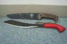 Big fixed blades