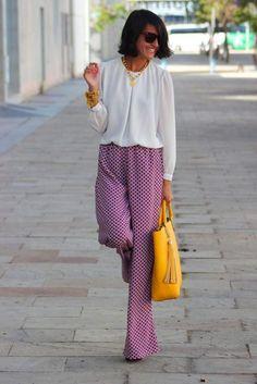 Patterned Pants 2017 Street Style
