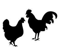 Chicken Svg Files For Cricut Chicken Monogram Svg Cock