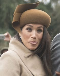 Royal Recap and Shop the Look: Meghan Markle at Sandringham for Christmas Service Harry And Megan Markle, Meghan Markle Prince Harry, Prince Harry And Megan, Harry And Meghan, Elizabeth Ii, Prince Harry Of Wales, Princess Meghan, Royal Brides, Duke And Duchess