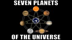 Seven Planets of the Universe | Flat Earth Food for Thought