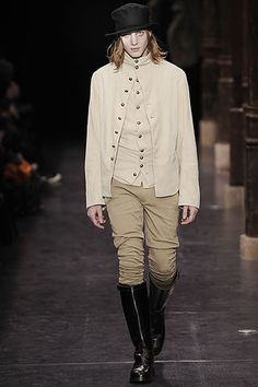 The pants and coat remind me of Julia's dueling clothes.