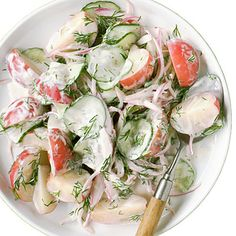 Cucumber Potato Salad