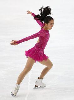 得点を伸ばせず4位発進となった浅田 (369×500) 「真央 SP出遅れも7季ぶり3―3回転「認定してもらえてうれしい」」 http://www.sponichi.co.jp/sports/news/2015/11/28/kiji/K20151128011589200.html