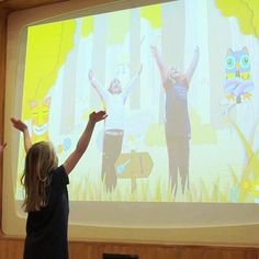Patients at the Royal London Children's Hospital now have a playground, the centerpiece of which is a giant television with which the children can interact. The lively playgroun...