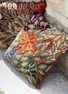 Square Grandiflora Pillow