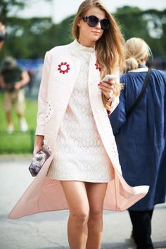Flower Embellishment Trend // Paris fashion week // Spring 2014 trend