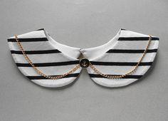 Sailor Summer Style Handmade Detachable Collar Necklace by BlumArt